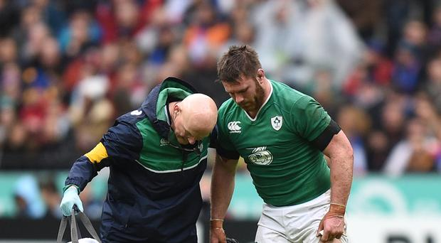 Sean O'Brien, pictured right, is back in the Ireland team