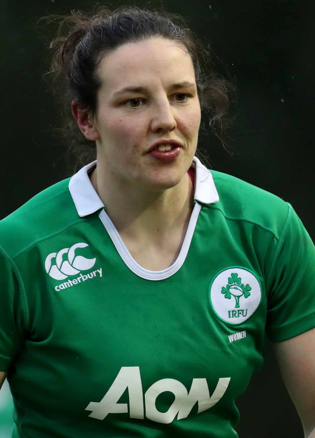 Skipper: Paula Fitzpatrick will lead Ireland against Canada
