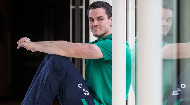 Game plan: Johnny Sexton is ready for the All Blacks again