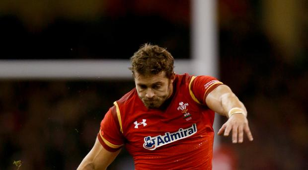 Leigh Halfpenny is set to start on the wing for Wales for the first time in five years