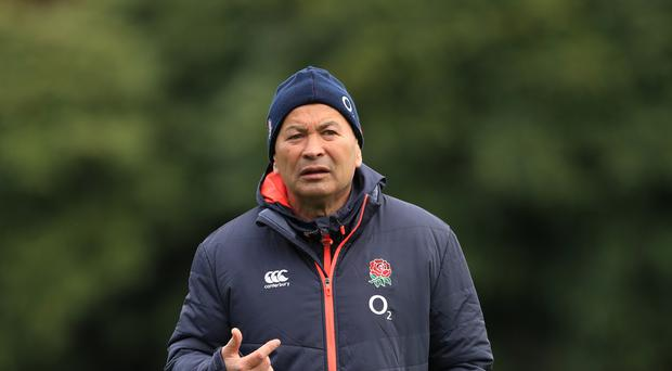 England head coach Eddie Jones is looking to bore Fiji this weekend