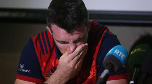 Spare a thought for Peter O'Mahony.