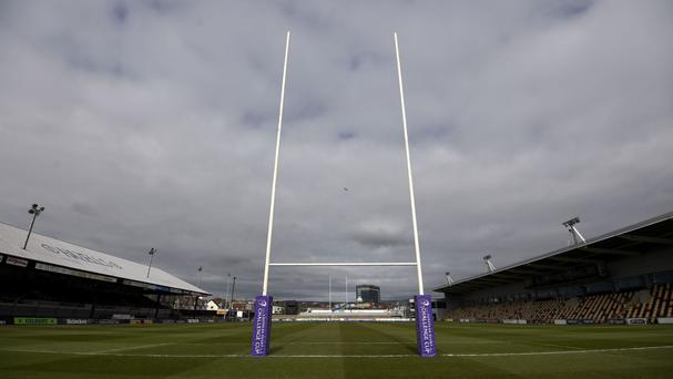 Newport Gwent Dragons were the victors at Rodney Parade