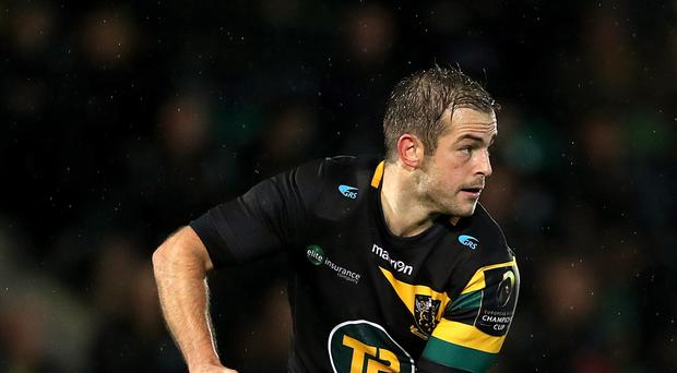 Stephen Myler excelled with the boot for Northampton