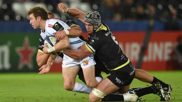 Will Chudley helped Exeter to victory against his former club