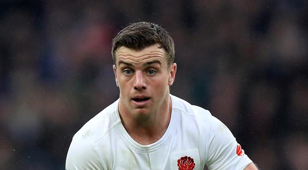 George Ford helped England to a 58-15 win over Fiji.