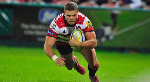 Henry Purdy rounded off a big win for Gloucester