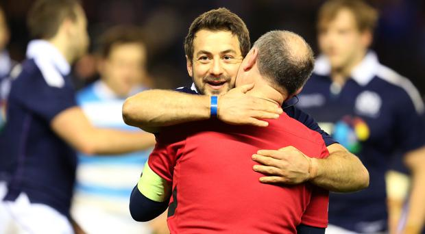 Greig Laidlaw snatched victory for Scotland