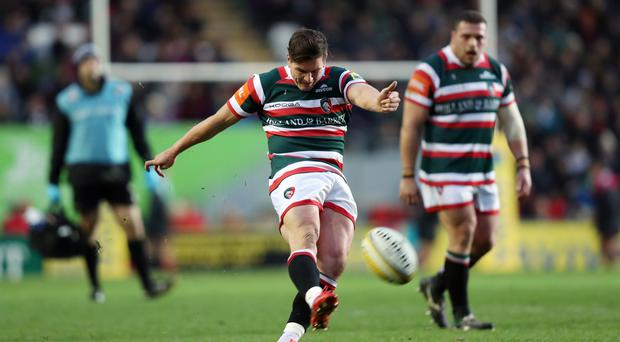 Freddie Burns excelled with the boot for Leicester