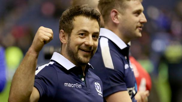 Scotland captain Greig Laidlaw is eyeing another win when his side face Georgia this weekend