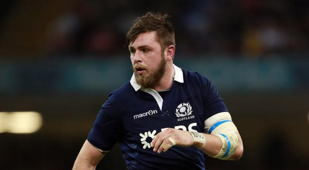 Scotland's Ryan Wilson, pictured, is being spurred on by the likes of Hamish Watson and Magnus Bradbury
