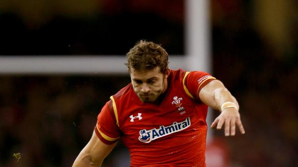 Leigh Halfpenny is in the Wales team to play South Africa.