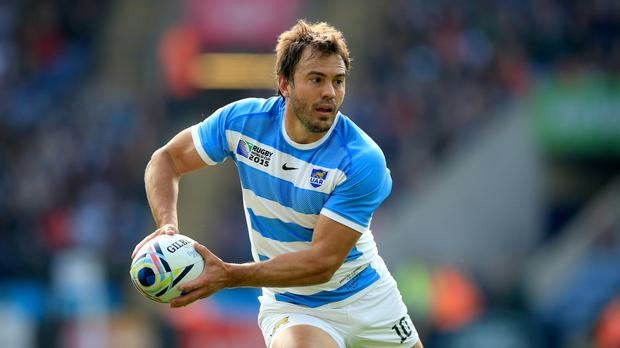 Juan Martin Hernandez starts at fly-half for Argentina against England