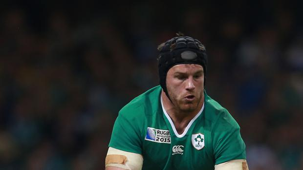 Ireland's Sean O'Brien will have a late fitness test ahead of the Australia game