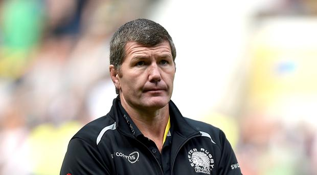 Exeter head coach Rob Baxter is happy with the Chiefs' current form