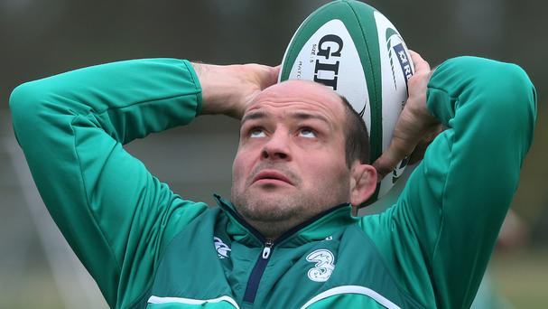 Rory Best will win his 100th cap for Ireland on Saturday