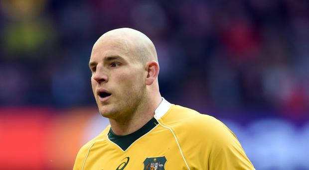 Stephen Moore is only focused on Australia's game with Ireland