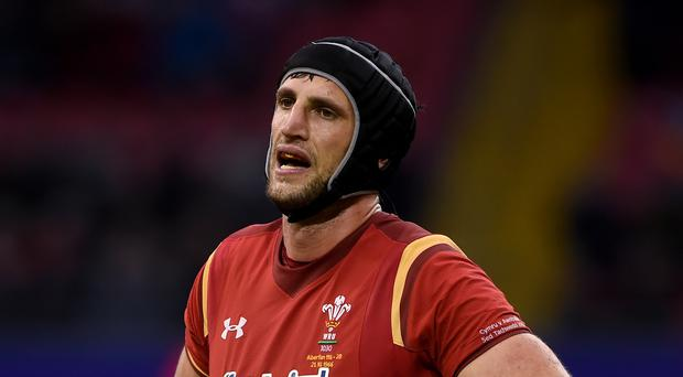 Luke Charteris, pictured, feels that Wales will benefit from Liam Williams' likely move to Saracens