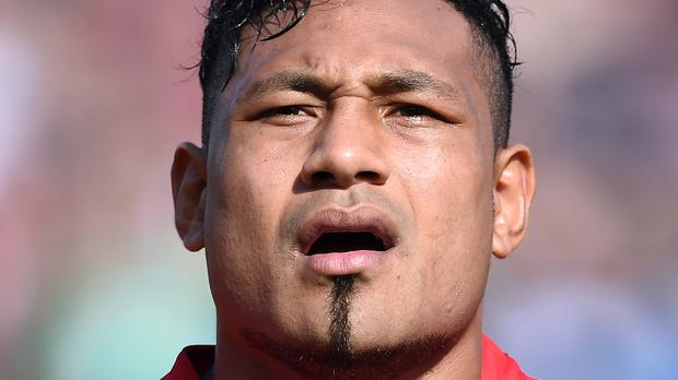 Sonatane Takulua led Tonga to victory in Italy