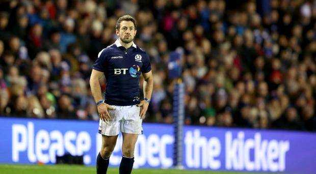 Scotland's Greig Laidlaw finished with 13 points against Georgia