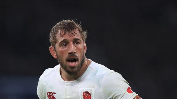 Chris Robshaw shone for England