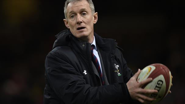Wales coach Rob Howley: