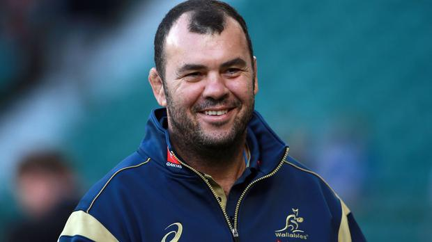 Michael Cheika's Australia take on England next weekend
