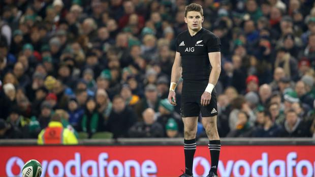 Beauden Barrett scored 14 points for New Zealand