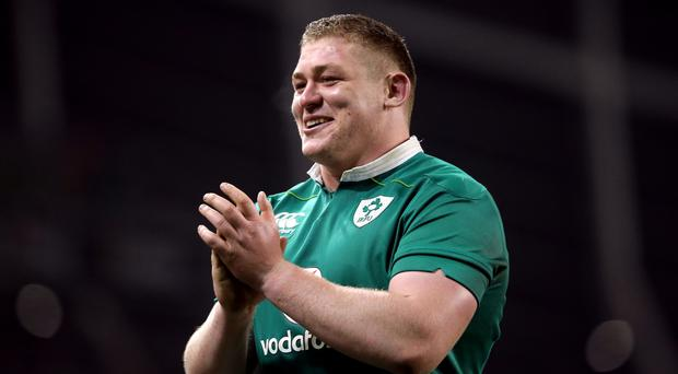 Tadhg Furlong has impressed for Ireland in the autumn internationals
