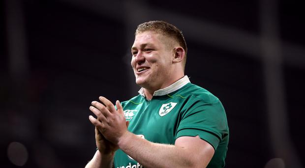 Ireland's Tadhg Furlong had an impressive autumn