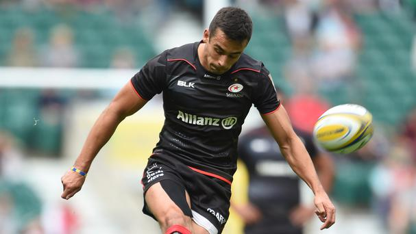 Alex Lozowski finished with a haul of 14 points to help Saracens see off Gloucester