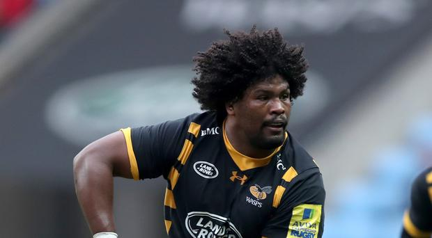 Ashley Johnson scored twice for Wasps against Sale