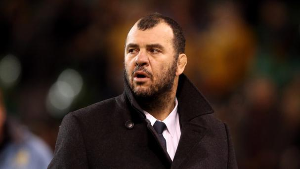 Australia coach Michael Cheika has continued the war of words ahead of his side's clash with England