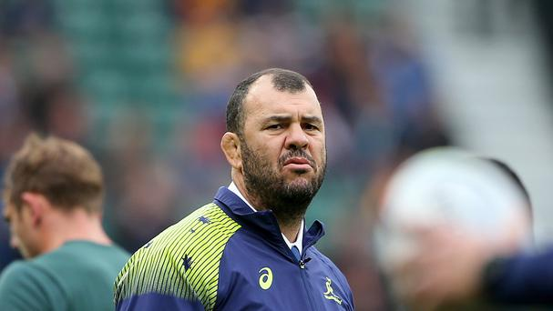 Michael Cheika is more concerned with his misfiring Australia team than a war of words with Eddie Jones