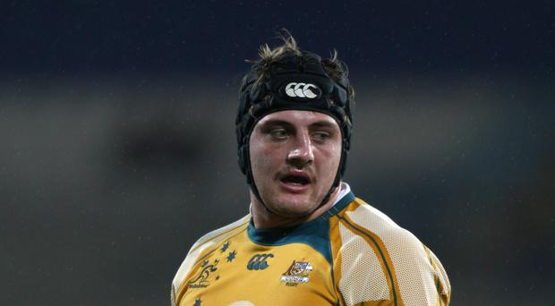 Dean Mumm is available for Australia at Twickenham this weekend