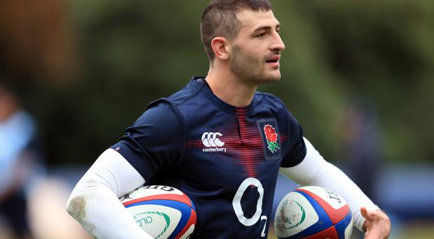 Jonny May has scored two tries for England this autumn