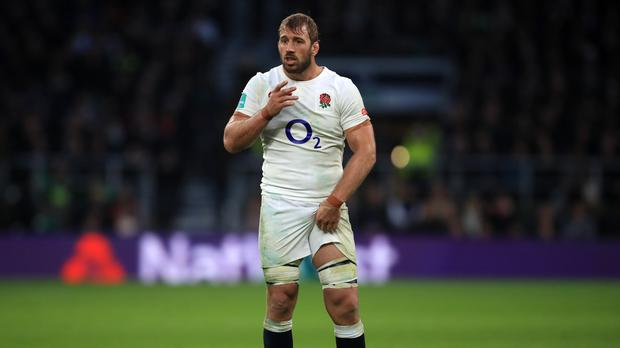 Chris Robshaw, pictured, has come to the defence of England team-mate Dan Cole