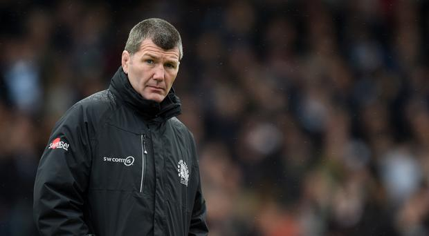 Exeter head coach Rob Baxter wants to keep momentum going against Premiership opponents Sale Sharks on Friday