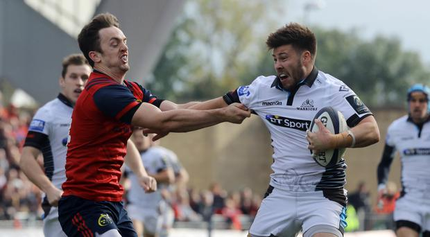 Ali Price, right, is back for Glasgow Warriors