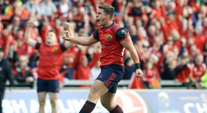 Ian Keatley's drop goal earned Munster a dramatic win over Glasgow
