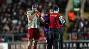 James Horwill will captain Harlequins for the trip to Newcastle just two weeks after suffering a nasty finger injury