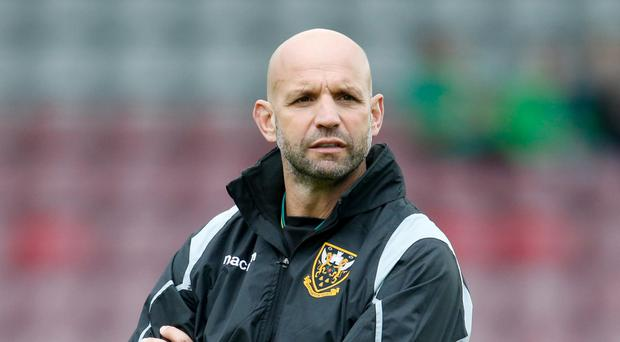 Jim Mallinder, pictured, said Northampton followed protocols regarding George North's head injury