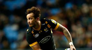 Wasps' Danny Cipriani was a late withdrawal with a calf strain
