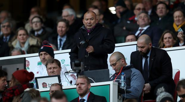 Eddie Jones has guided England to a clean sweep of victories this autumn