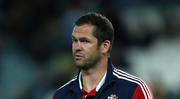 Andy Farrell will be part of the coaching team for next summer's British and Irish Lions tour to New Zealand