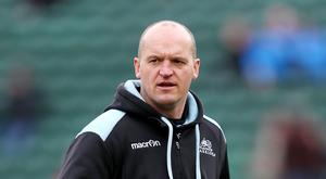 Gregor Townsend was pleased with Glasgow's defence