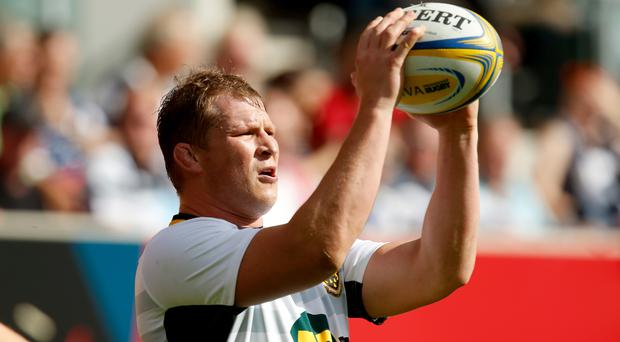 Dylan Hartley will miss six games for Northampton