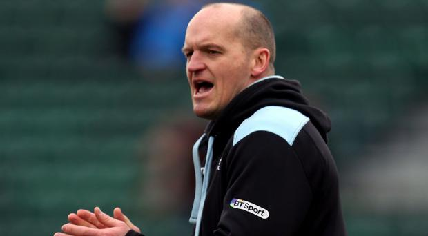 Gregor Townsend has encouraged his men to up their performance again