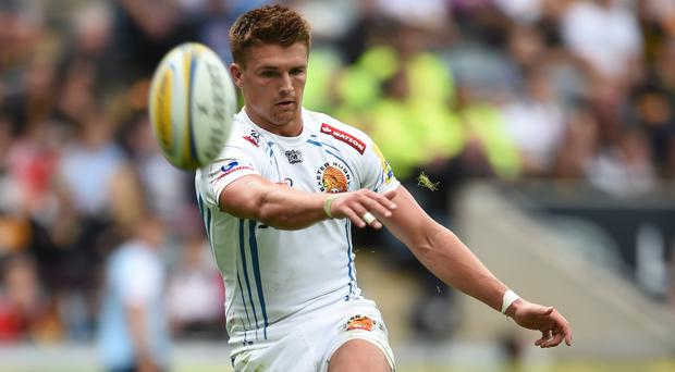Henry Slade booted two penalties and a conversion in Exeter's win over Bordeaux-Begles