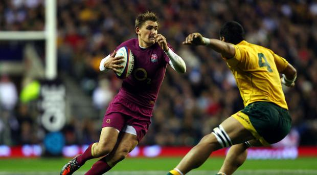 Toby Flood, left, racked up the points for Toulouse